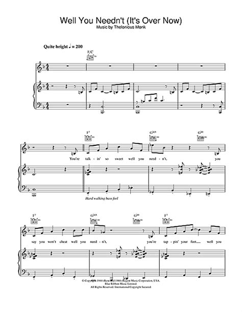 printable lyrics to freedom by eddie james jamie cullum well you needn t it s over now sheet music