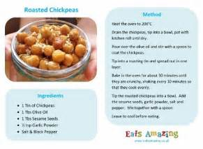 easy recipes for kids roasted chickpeas eats amazing