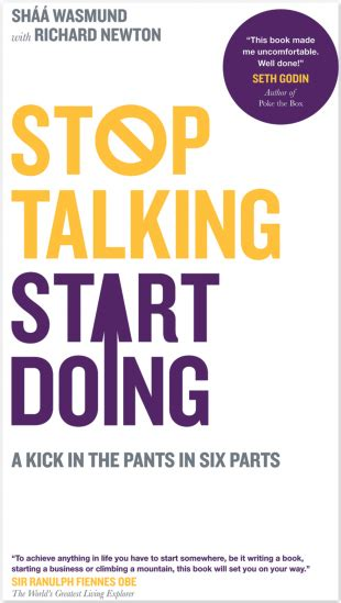 Start Doing stop talking start doing shaa wasmund