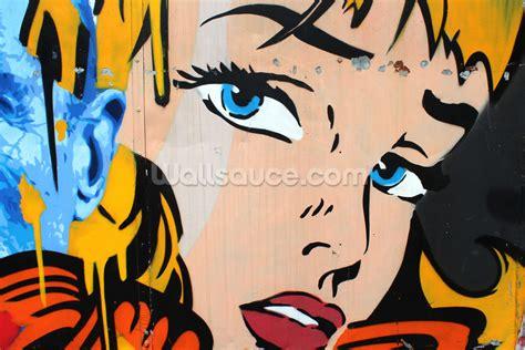 Pop Art Wall Murals pop art wallpaper wall mural wallsauce