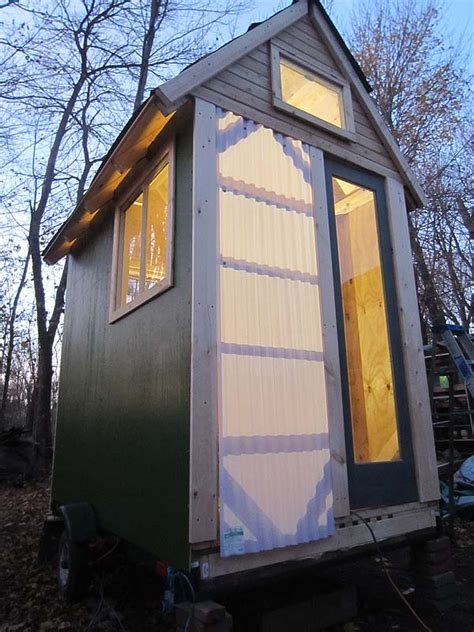 40 squar efeet a 40 square foot tiny house an old workshop and a new