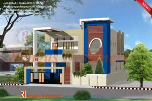 single floor kerala house models further front house
