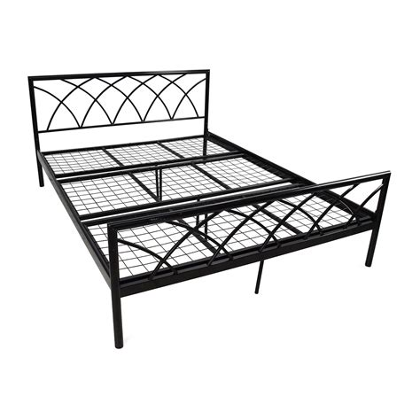 Overstock Metal Bed Frame 75 Overstock Size Metal Bed Frame Beds