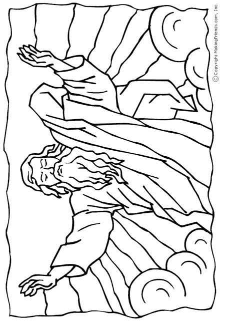 moses parting the red sea coloring page az coloring pages