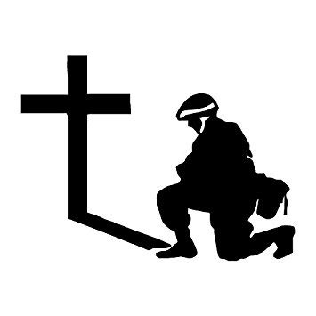soldier praying silhouette www pixshark com images