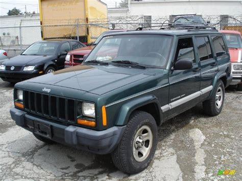 2001 forest green pearlcoat jeep sport 29957461 gtcarlot car color galleries