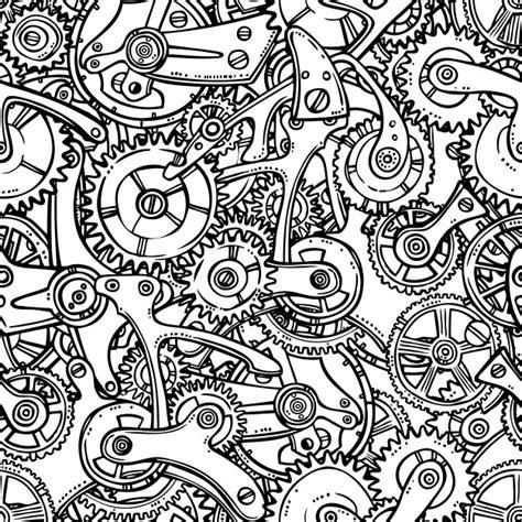 sketch pattern download schizzo grunge ingranaggi meccanismi ingranaggi senza