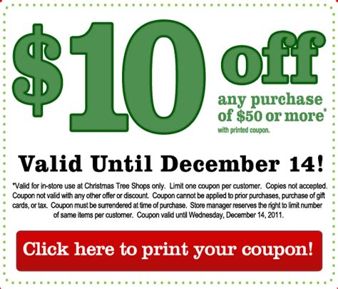 christmas tree shop printable coupons 20 off mega deals