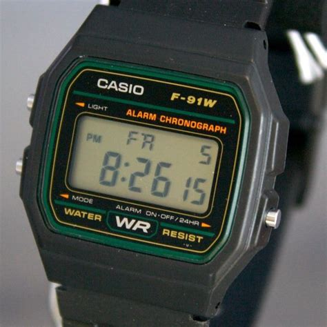 Casio F 91w 3d casio classic f 91w 3dg wristwatch photos and