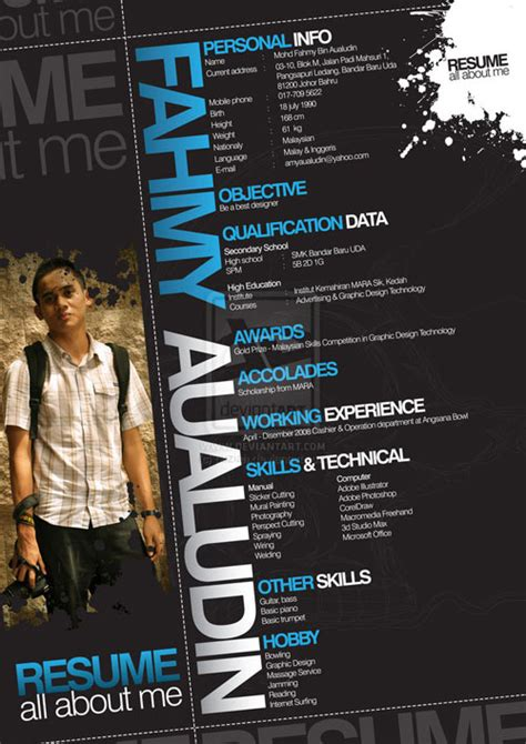 Visual Designer Resume Sample by 25 Creative Resume Designs That Will Make You Rethink Your Cv