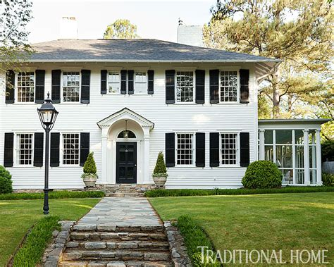 traditional house before and after updated atlanta classic traditional home