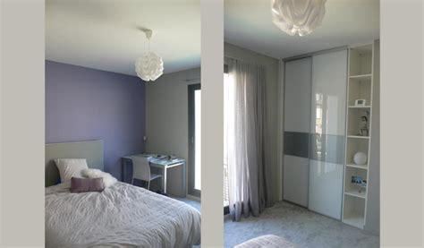 Chambre Gris Et Parme chambre parme et gris nolwenn kevell photo n 176 91 domozoom