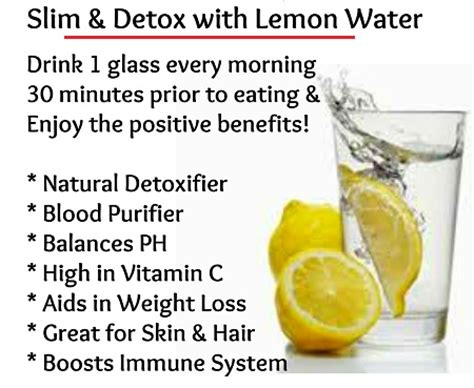 Lemon Detox Water Side Effects by Naijaweightloss The 100 Loss Cook Book