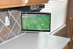 kitchen tv cabinet mount under cabinet kitchen tv buyers guide quality mobile