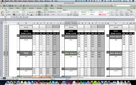design layout record exle personal training workout log from excel training designs