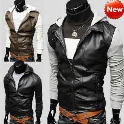 desain jaket keren 2015 new men s punk bomber biker motorcycle hoodies hooded