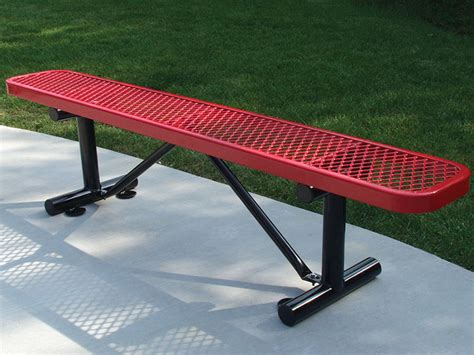 leisure craft benches site furnishings play it safe playgrounds park equipment