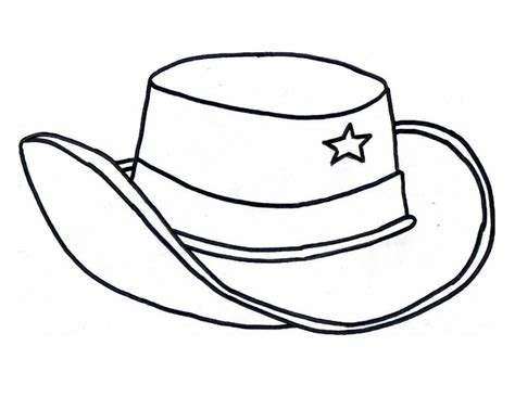 western hat coloring page cowboy hat coloring page az coloring pages