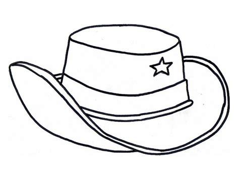 free coloring pages cowboy hat cowboy hat coloring page az coloring pages