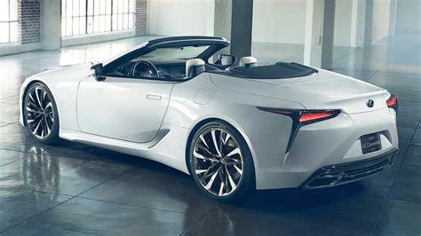 2019 Lexus Convertible by Lexus Lc Convertible Concept 2019 кабриолет на базе купе