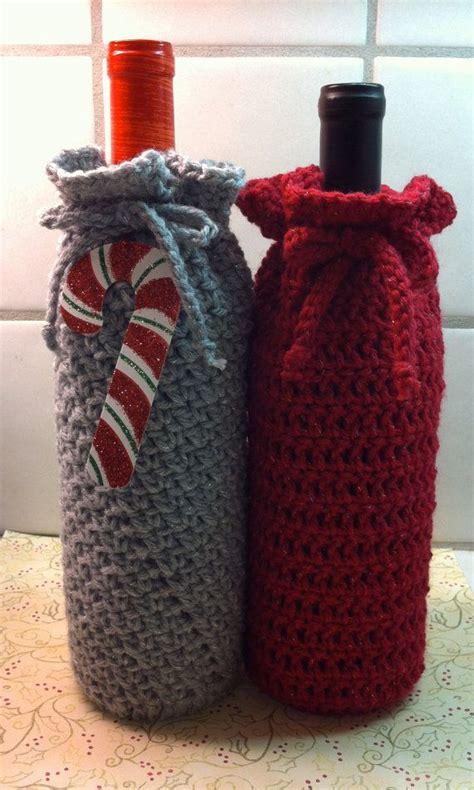 pattern for crochet bottle bag wine bottle bag crochet pattern bing images