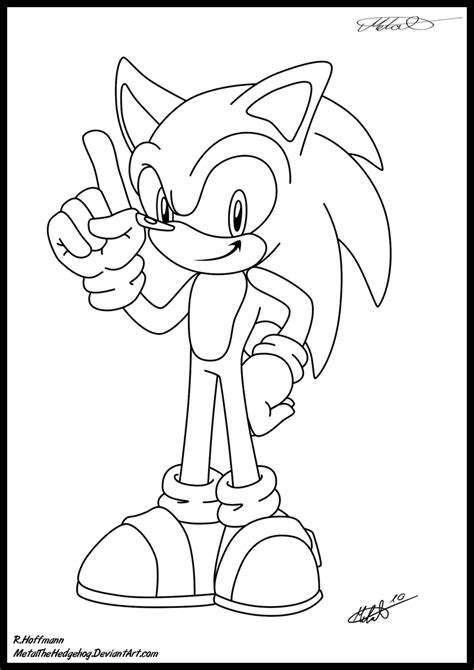 metal sonic the hedgehog coloring pages coloring pages
