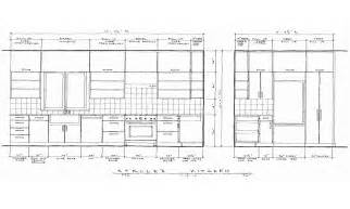 Kitchen Cabinet Elevation Drawings Kitchen Elevation Drawings