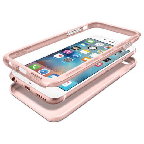 Spigen Hybrid Iphone 7 Plus Chagne Gold spigen thin fit hybrid iphone 6s 6 shell gold