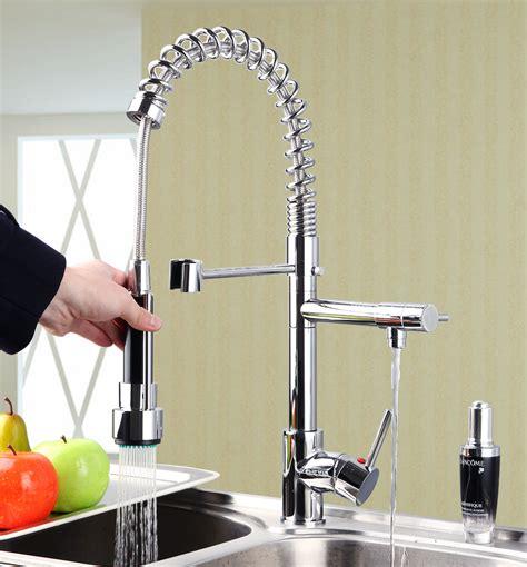 Ouboni Modern Luxury Torneira da Cozinha Torneira Cozinha puxar para baixo giro Spray 97168
