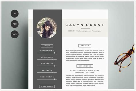 best resume powerpoint template modern resume templates docx to make recruiters awe
