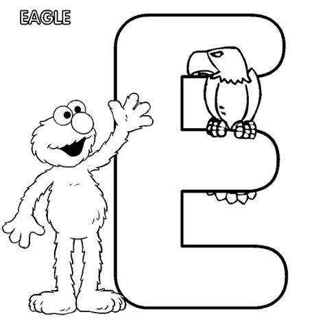 elmo easter coloring pages to print the letter e lesson