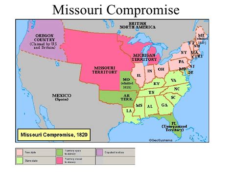 Missouri Compromise Sectionalism 28 Images About