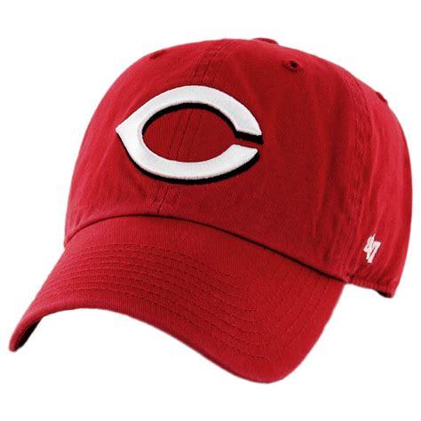 47 brand cincinati reds mlb clean up strapback baseball