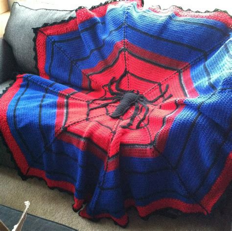 pattern for spiderman blanket superhero crochet patterns and blankets graphghan