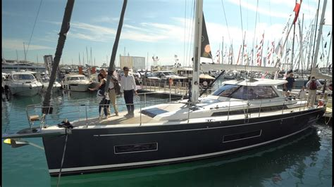 sv delos boat amel 50 guided tour video english at the cannes