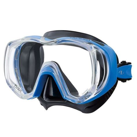 Tusa Mask Freedom Tri Quest 1 tusa tri quest mask black fish blue ebay