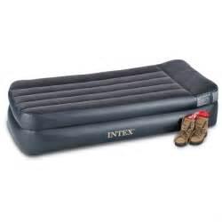 intex size air mattress intex air bed mattress with built in electric