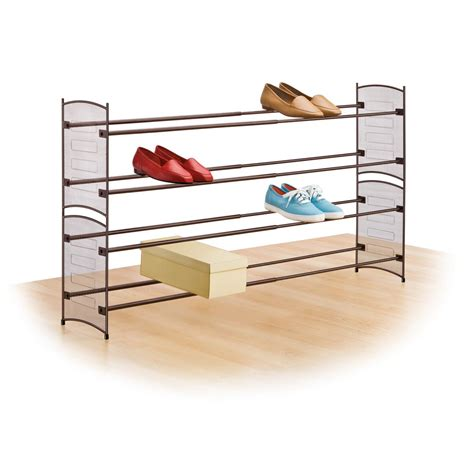 lynk 174 expandable stackable shoe rack 224103