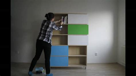 building a bookshelf from scratch hide and show designed