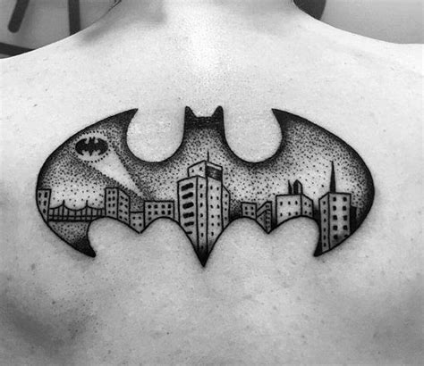 batman symbol tattoo designs ideas and meaning tattoos