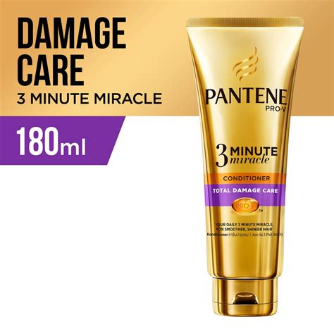 Harga Pantene Miracle pantene conditioner 3 minutes miracle quantum total damage