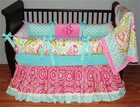 aqua and pink baby bedding baby bedding aqua pink green baby time juxtapost