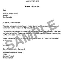 Sample Proof Of Funds Letter Template 5 Must Have Components Of A Rock Solid Offer Realeflow