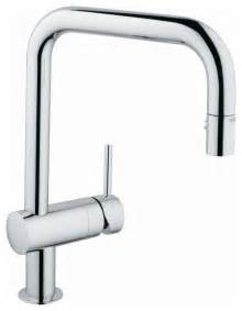 grohe pull out spray kitchen faucet contemporary kitchen faucets denver by plumbingdepot