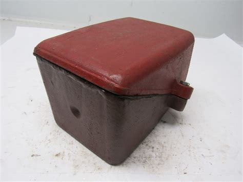 cast iron electric motor terminal conduit box wcover