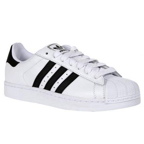 Addidas Black Ready Uk 41 adidas adidas superstar 2 white black z26 g17068 mens trainers adidas from brands uk uk