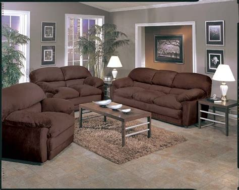 Microfiber Sectional Sofa Set 2 Chocolate Microfiber Sofa Set By Acme 5585 S