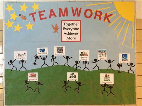 bulletin layout sles motivational workplace bulletin boards teamwork bulletin