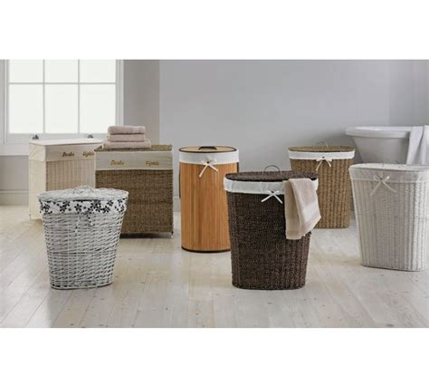 argos laundry buy home laundry basket white at argos co uk your