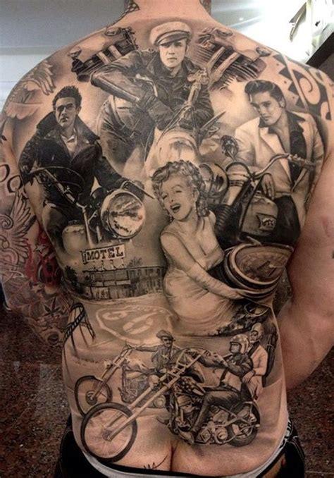 欧美风格的满背纹身第2页